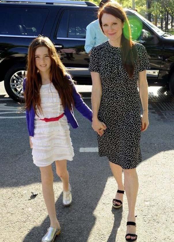Διάσημες γυναίκες με τις κόρες τους (2)