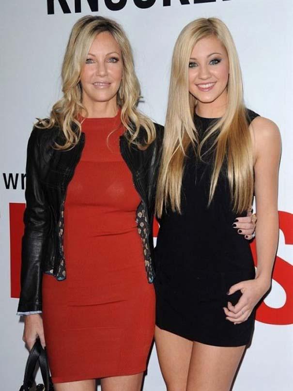 Διάσημες γυναίκες με τις κόρες τους (10)