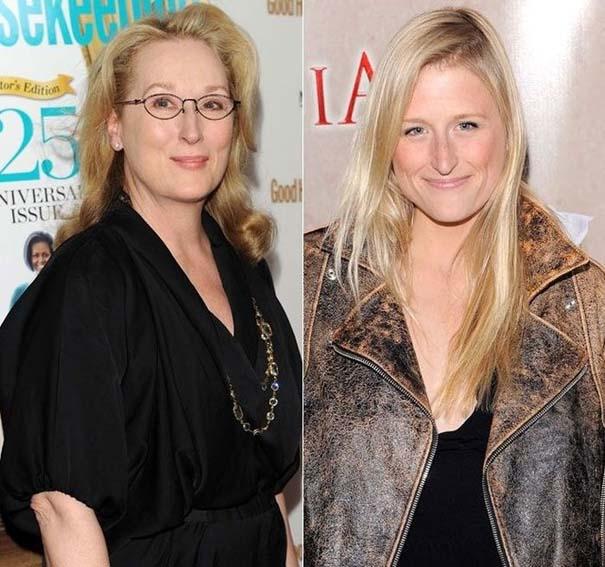 Διάσημες γυναίκες με τις κόρες τους (1)