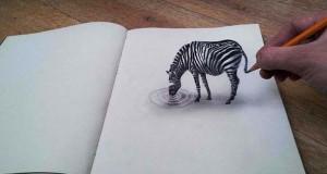 Εκπληκτικές 3D ζωγραφιές που «βγαίνουν» απ' το χαρτί #3