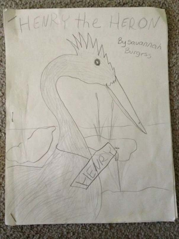 Η εξέλιξη ενός καλλιτέχνη από 9 έως 18 ετών (1)