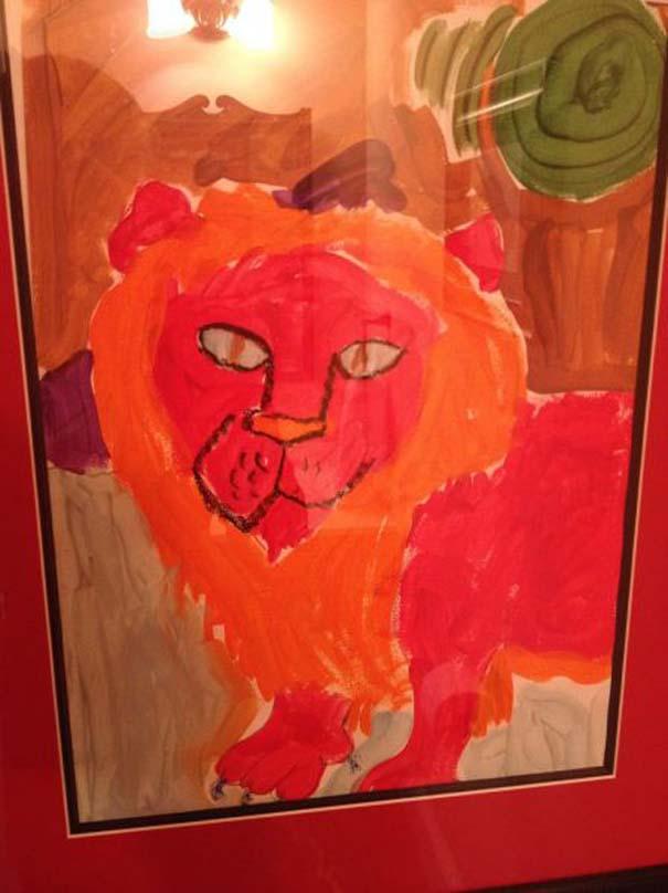 Η εξέλιξη ενός καλλιτέχνη από 9 έως 18 ετών (2)