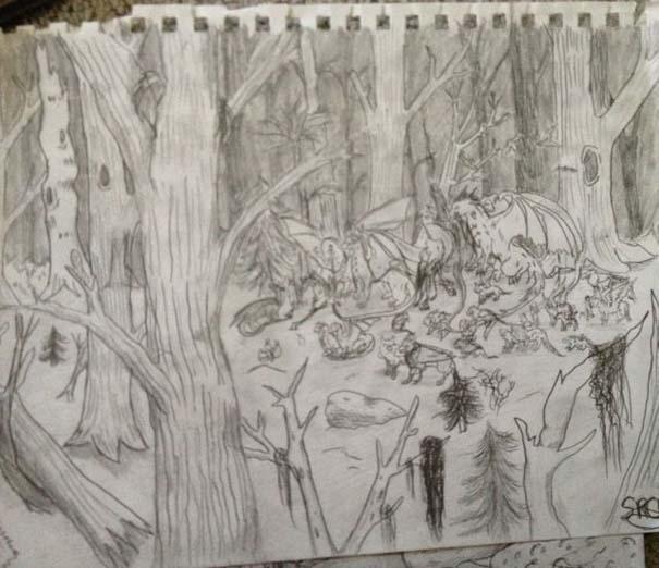 Η εξέλιξη ενός καλλιτέχνη από 9 έως 18 ετών (4)
