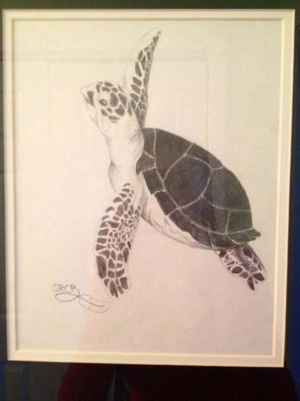 Η εξέλιξη ενός καλλιτέχνη από 9 έως 18 ετών (8)