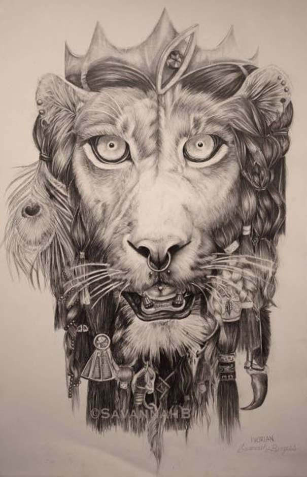 Η εξέλιξη ενός καλλιτέχνη από 9 έως 18 ετών (10)