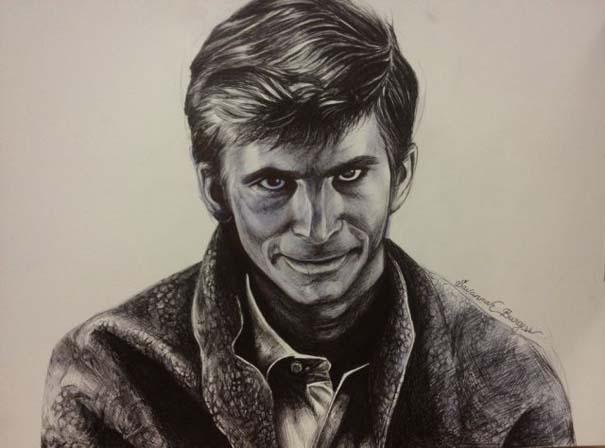 Η εξέλιξη ενός καλλιτέχνη από 9 έως 18 ετών (11)