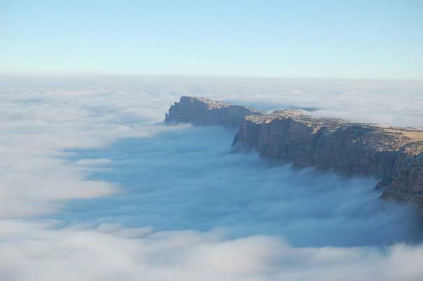 Εντυπωσιακό και εξαιρετικά σπάνιο φαινόμενο στο Grand Canyon (6)