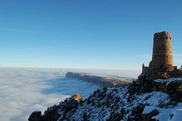 Εντυπωσιακό και εξαιρετικά σπάνιο φαινόμενο στο Grand Canyon (9)