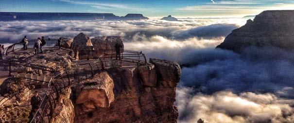 Εντυπωσιακό και εξαιρετικά σπάνιο φαινόμενο στο Grand Canyon (1)