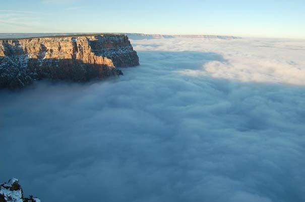 Εντυπωσιακό και εξαιρετικά σπάνιο φαινόμενο στο Grand Canyon (3)