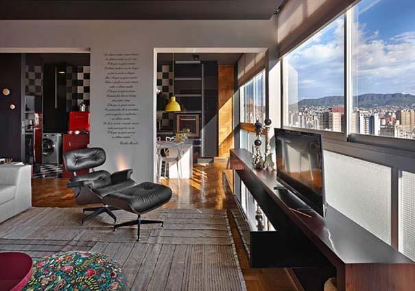 Εντυπωσιακό και γεμάτο χρώμα loft στη Βραζιλία (3)