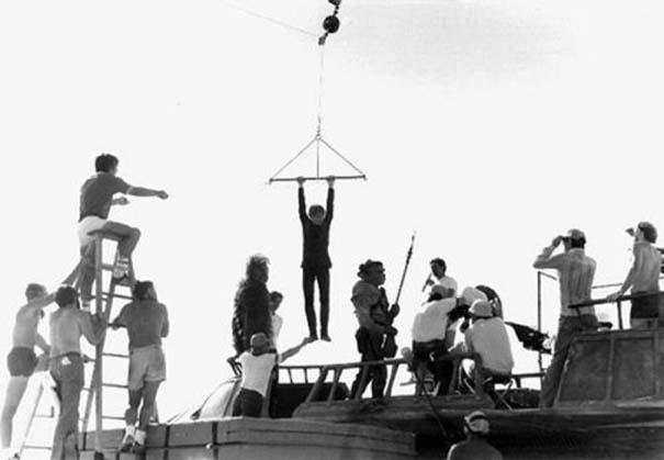 Φωτογραφίες από τα γυρίσματα διάσημων ταινιών (23)