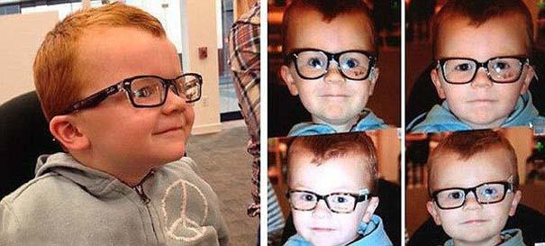 Πείθοντας τον Noah να φορέσει γυαλιά (2)