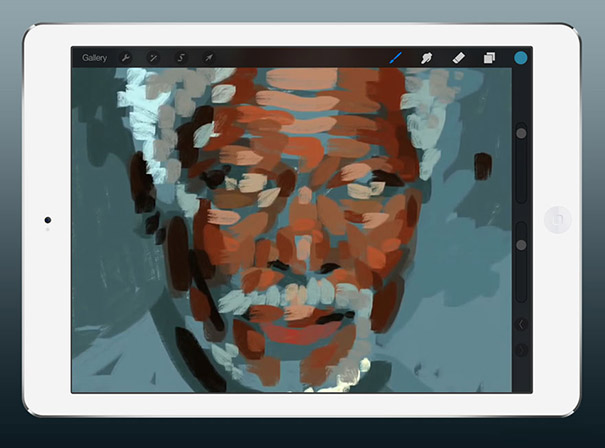 Εκπληκτικά ρεαλιστικός πίνακας ζωγραφικής σε iPad (2)
