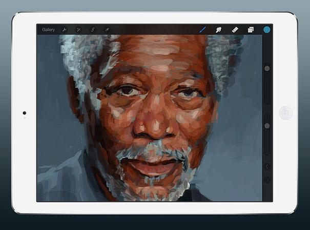 Εκπληκτικά ρεαλιστικός πίνακας ζωγραφικής σε iPad (3)