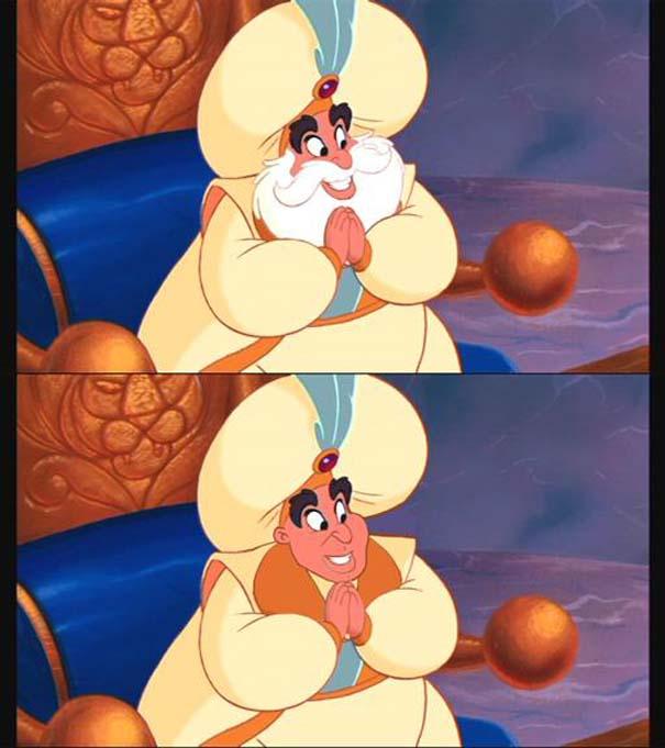 `Ήρωες της Disney με και χωρίς μούσι (1)
