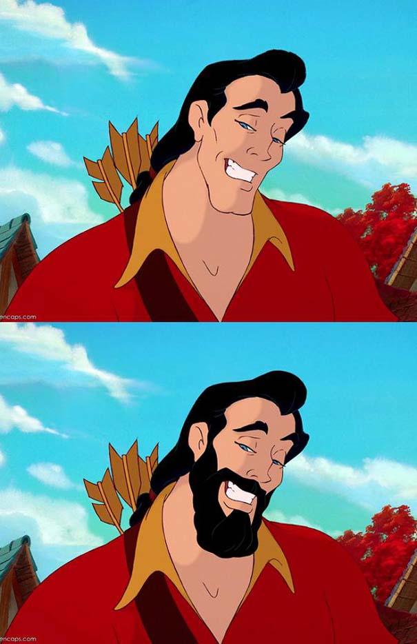 `Ήρωες της Disney με και χωρίς μούσι (8)