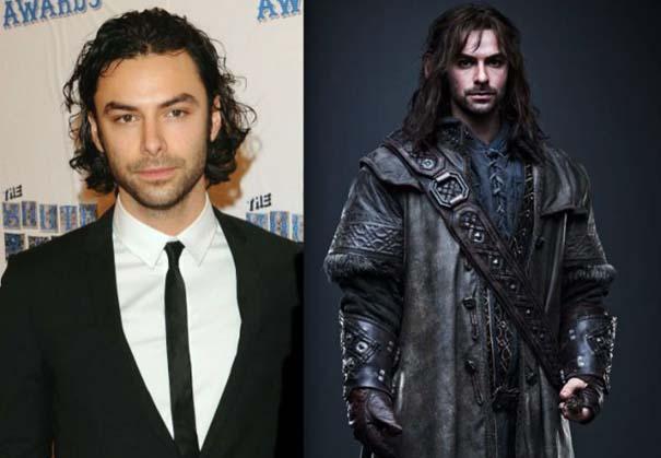 Ηθοποιοί από ταινία Hobbit (2)