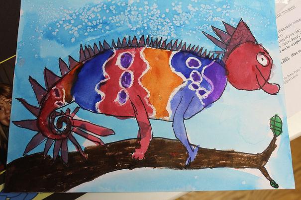 Καλλιτέχνιδα μετατρέπει τις ζωγραφιές παιδιών σε λούτρινα παιχνίδια (20)