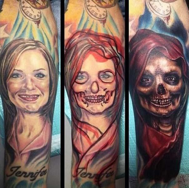 Καλύπτοντας το τατουάζ του/της πρώην (3)