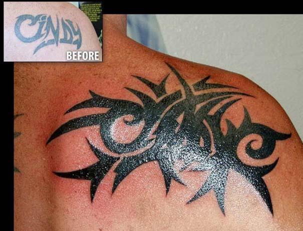 Καλύπτοντας το τατουάζ του/της πρώην (10)