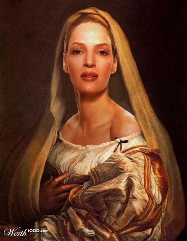 Κλασσικοί πίνακες ζωγραφικής με σύγχρονους celebrities (2)