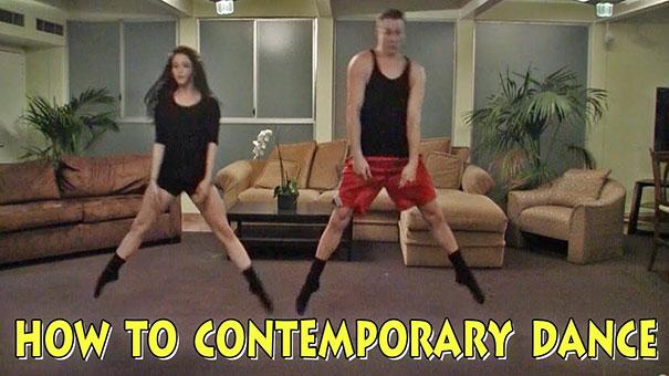 Ξεκαρδιστικό: Μαθήματα σύγχρονου χορού για αρχάριους