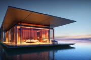 Μοντέρνο πλωτό σπίτι (1)