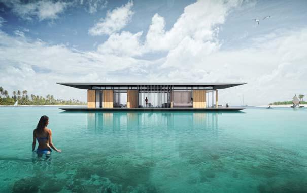 Μοντέρνο πλωτό σπίτι (2)