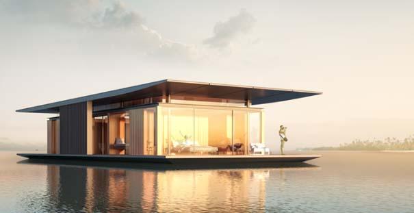 Μοντέρνο πλωτό σπίτι (3)