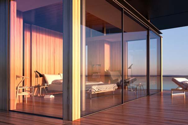 Μοντέρνο πλωτό σπίτι (4)