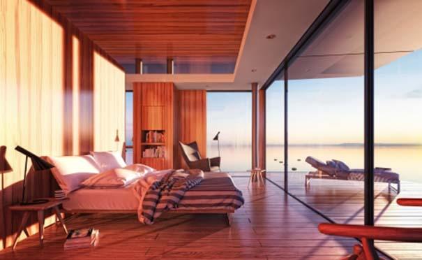 Μοντέρνο πλωτό σπίτι (5)
