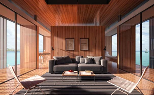 Μοντέρνο πλωτό σπίτι (6)