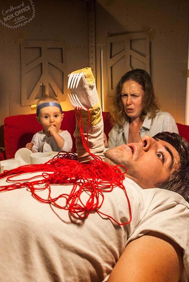 Οικογένεια δημιουργεί παρωδίες ταινιών (1)