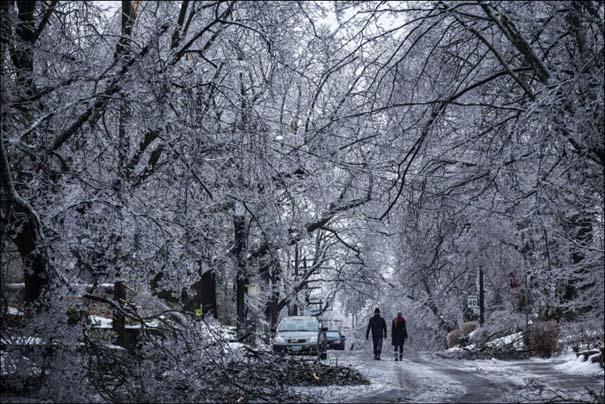Εντυπωσιακές εικόνες που άφησε πίσω της μια παγοθύελλα στον Καναδά (5)