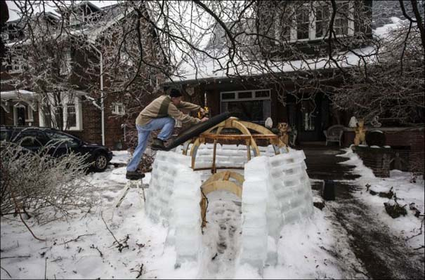 Εντυπωσιακές εικόνες που άφησε πίσω της μια παγοθύελλα στον Καναδά (7)