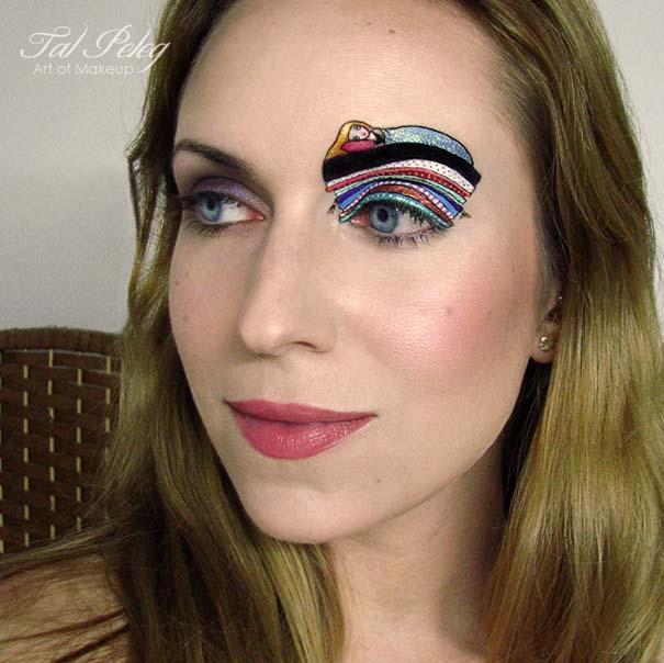 Make-up artist δημιουργεί παραμυθένια μακιγιάζ ματιών (1)