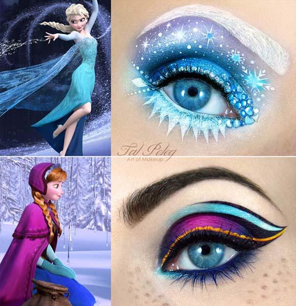 Make-up artist δημιουργεί παραμυθένια μακιγιάζ ματιών (5)