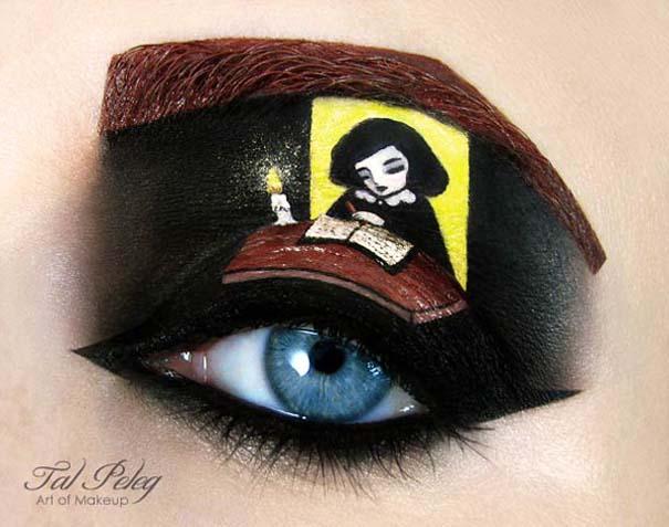 Make-up artist δημιουργεί παραμυθένια μακιγιάζ ματιών (6)