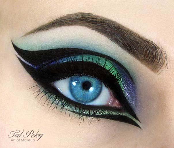 Make-up artist δημιουργεί παραμυθένια μακιγιάζ ματιών (9)