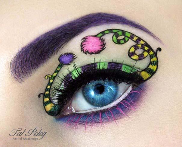 Make-up artist δημιουργεί παραμυθένια μακιγιάζ ματιών (10)