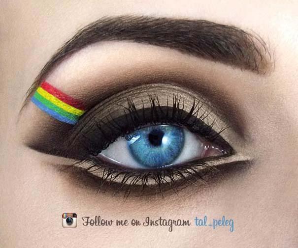Make-up artist δημιουργεί παραμυθένια μακιγιάζ ματιών (12)