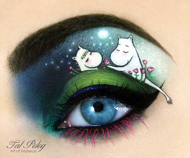 Make-up artist δημιουργεί παραμυθένια μακιγιάζ ματιών (16)