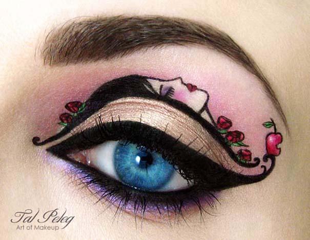 Make-up artist δημιουργεί παραμυθένια μακιγιάζ ματιών (19)