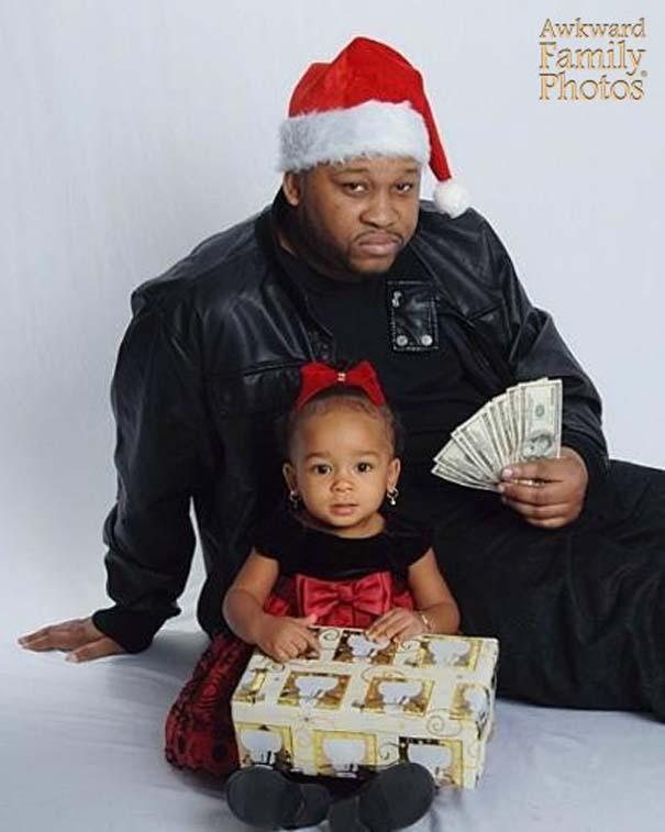Παράξενες οικογενειακές φωτογραφίες Χριστουγέννων (4)