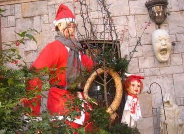 Περίεργοι χριστουγεννιάτικοι στολισμοί (5)