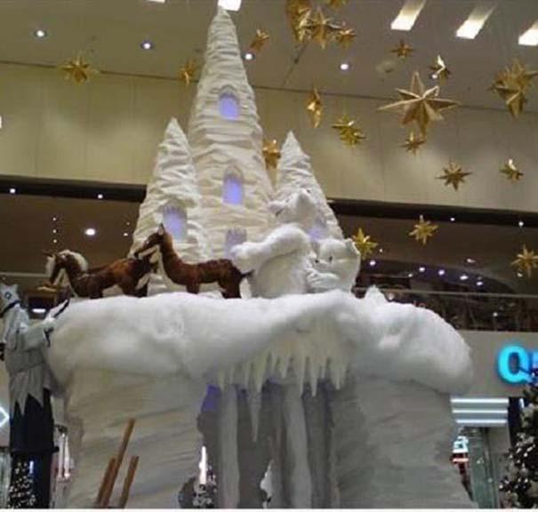 Περίεργοι χριστουγεννιάτικοι στολισμοί (13)