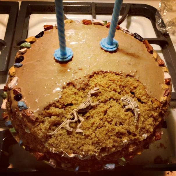 Η τούρτα του παλαιοντολόγου | Φωτογραφία της ημέρας