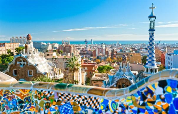 Μοναδική θέα της Βαρκελώνης | Φωτογραφία της ημέρας