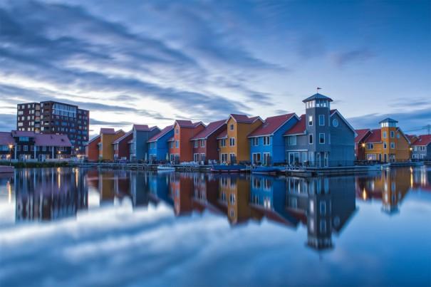 Η πολύχρωμη πόλη του Χρόνινγκεν στην Ολλανδία | Φωτογραφία της ημέρας